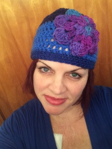 wendy flower hat